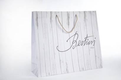 bertini, borsa in carta lux, paper bag
