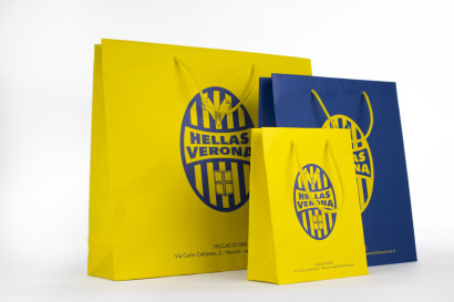 HELLAS VERONA, BORSE IN CARTA, LUXURY, PAPER BAG.