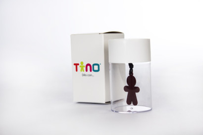 PACKAGING, SCATOLA IN CARTA, CILINDRO PLASTICA, TINO