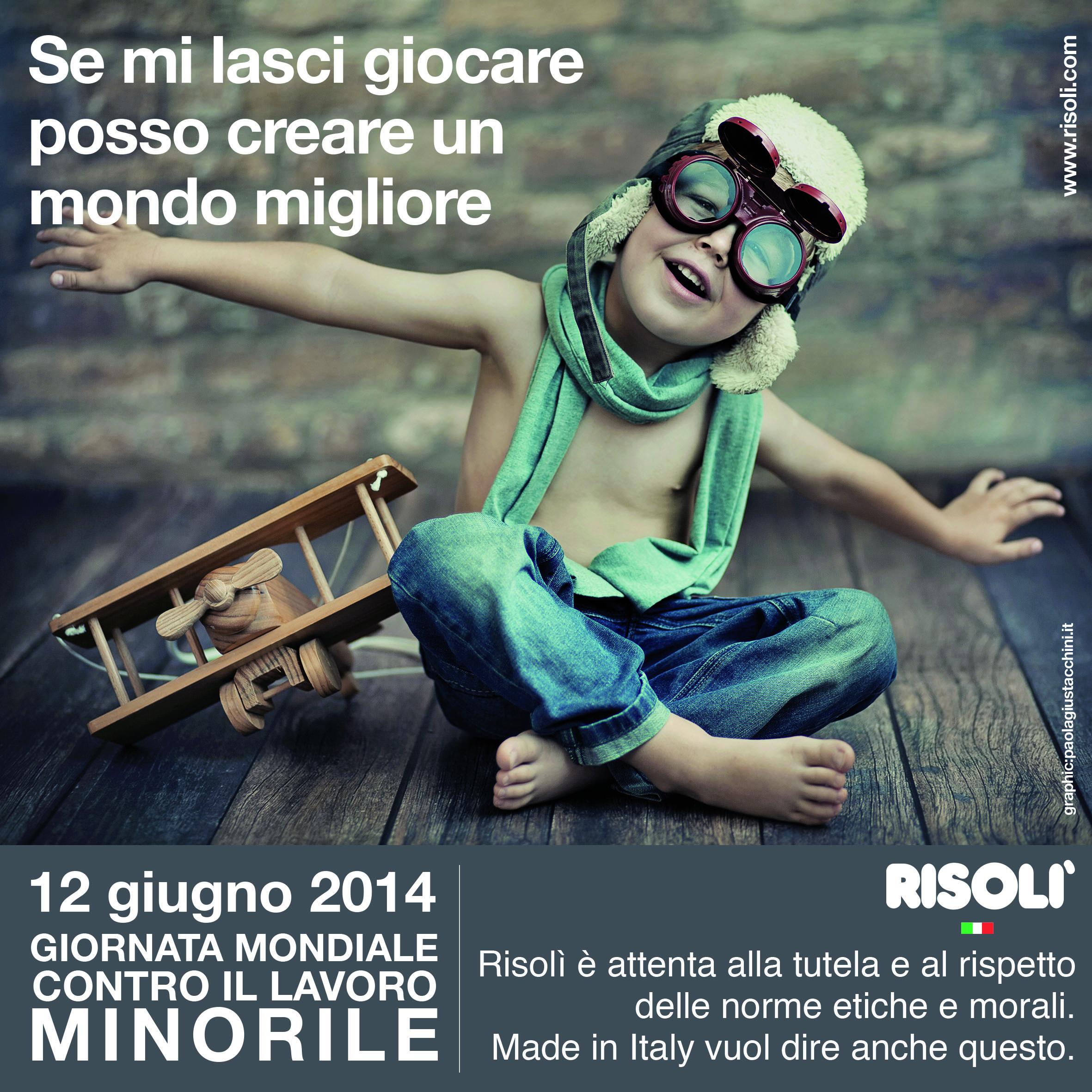 12 Giugno 2014 - GIORNATA MONDIALE CONTRO IL LAVORO MINORILE