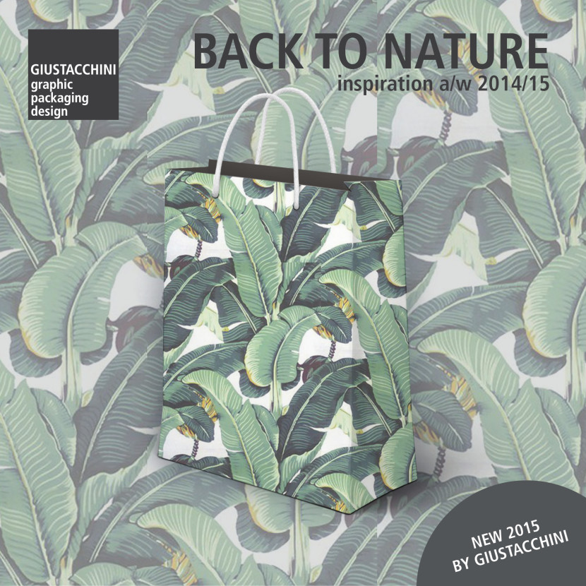 back to nature, moda, tendenza inverno 2015, green, jungle, packaging